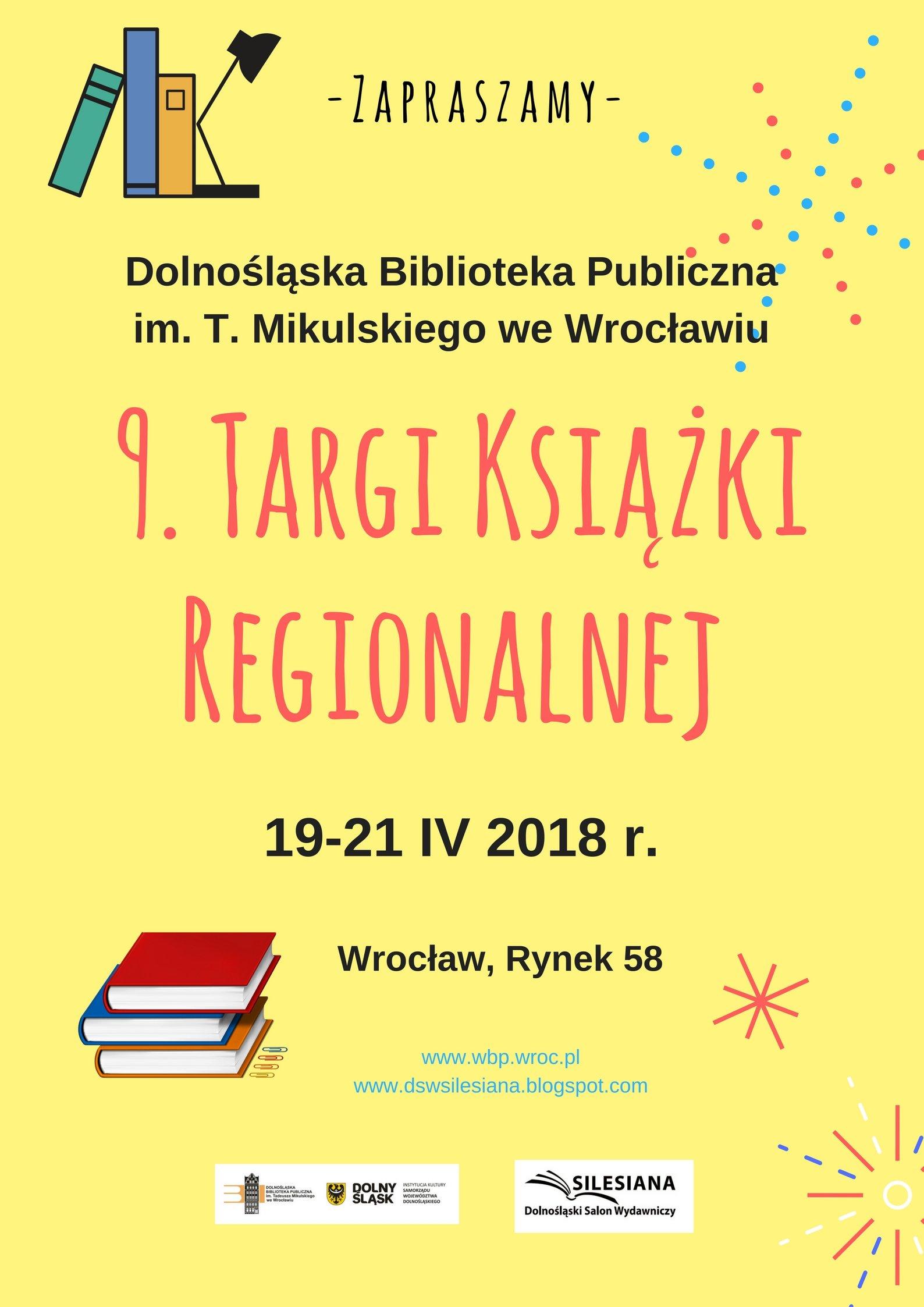 Nawigacja wiadomościWiadomość 8 z 13 Poprzednia Następna Temat: Targi Książki Regionalnej Silesiana 2018
