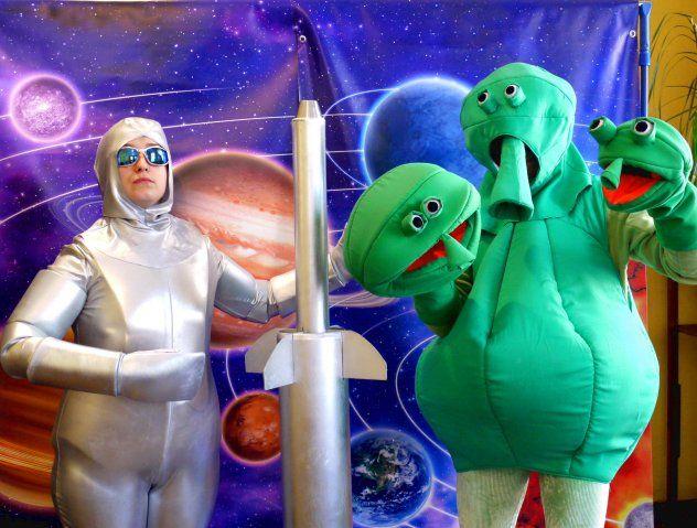 Teatr Gargulec: Kosmiczna przygoda. Spektakl i warsztaty twórcze dla dzieci