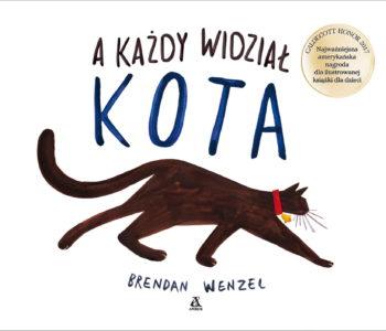 A każdy widział kota książka dla dzieci
