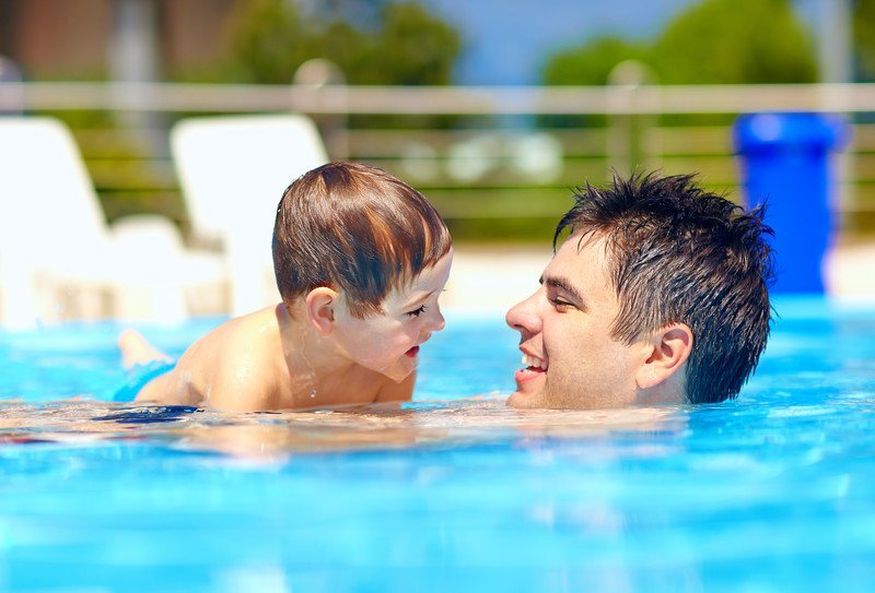 baseny i kąpieliska w Trójmieście, atrakcje dla dzieci