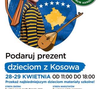 Podaruj prezent potrzebującym dzieciom z Kosowa