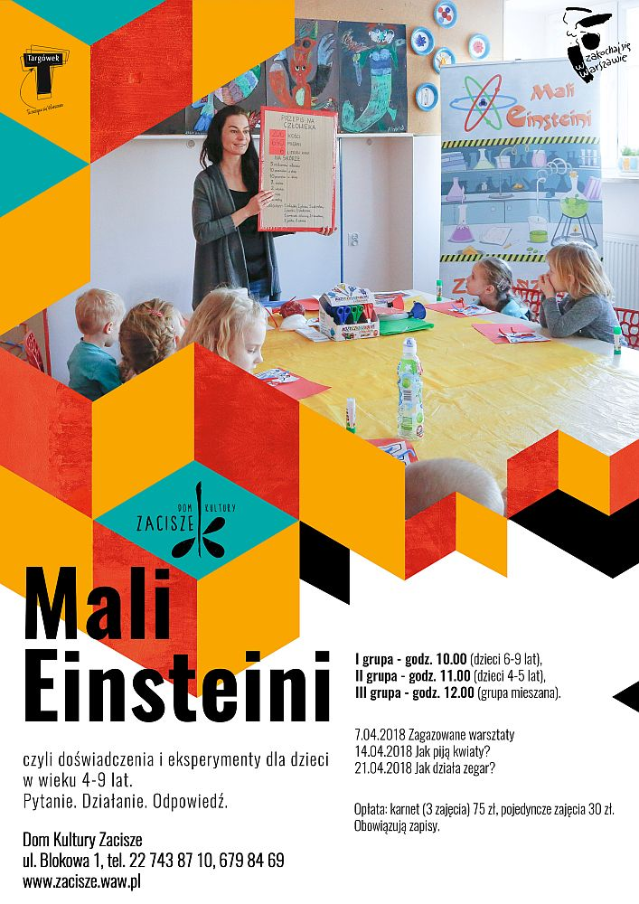 Mali Einsteini: Zagazowane warsztaty