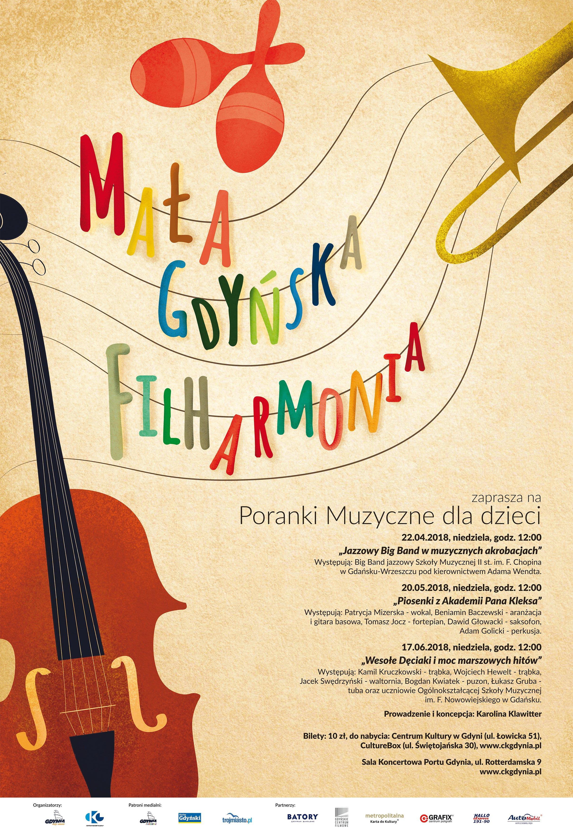 Mała Gdyńska Filharmonia: Jazzowy Big Band w muzycznych akrobacjach