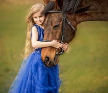 Minisesje zdjęciowe z końmi