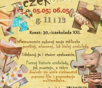 Majowe warsztaty czekoladowe dla dzieci