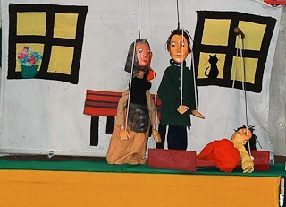 Teatr Pacuś: O Romusiu, o Emilce i zielonej koniczynce