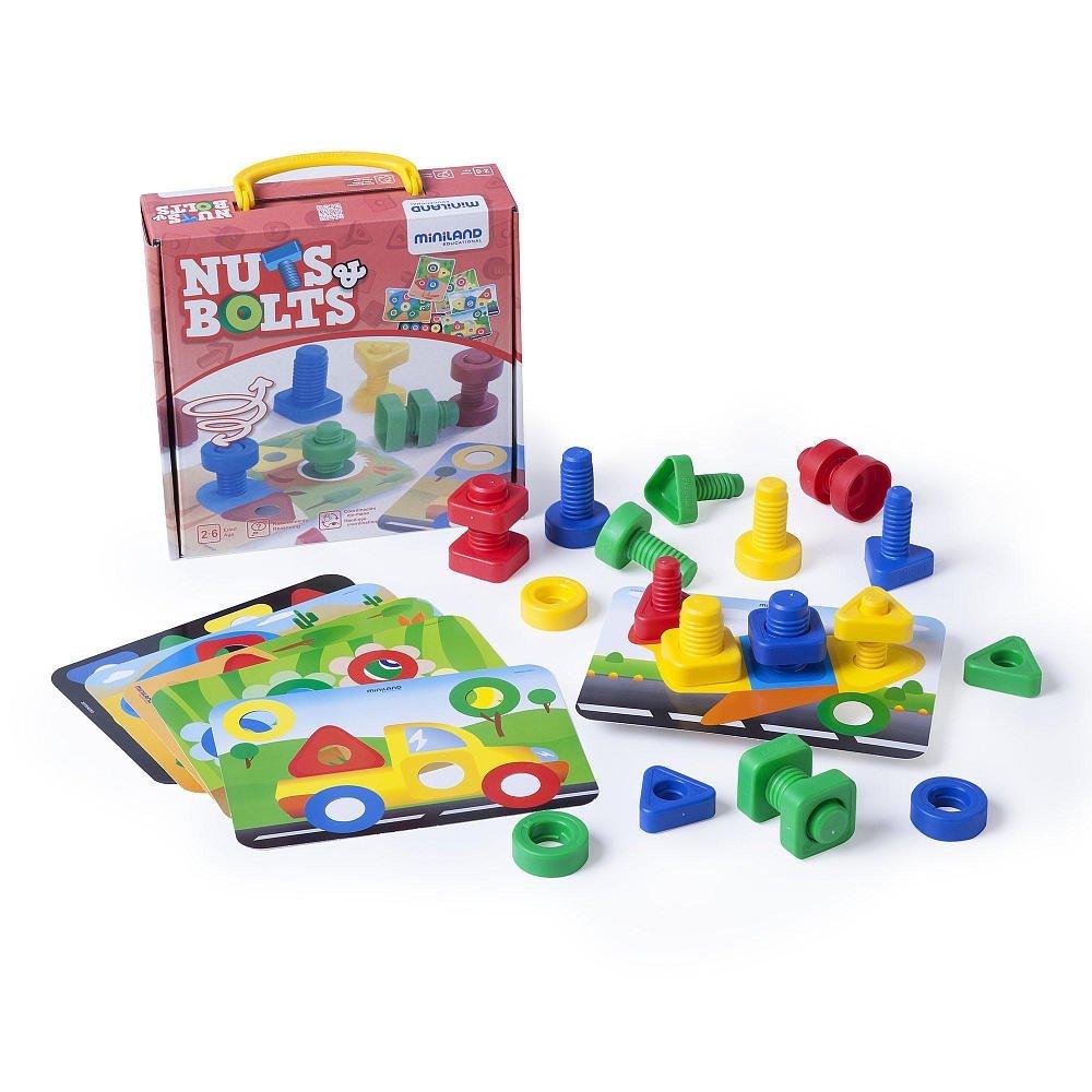 Zabawki rozwijające zdolności manualne - śrubki