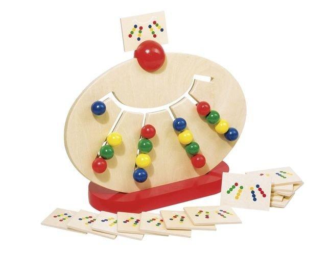 Zabawki i łamigówki rozwijające logiczne myślenie - tablica do sortowania kolorów