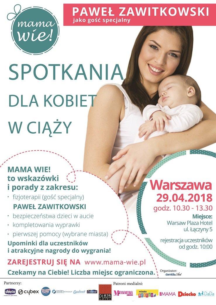 Warsztaty Mama Wie. Spotkanie dla kobiet w ciąży