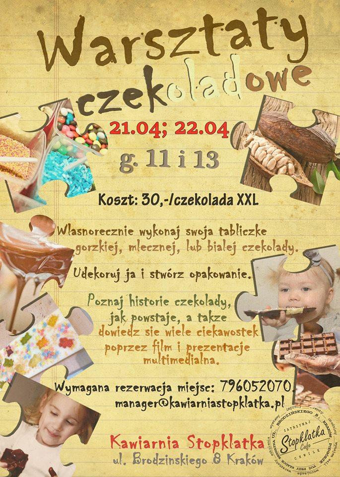 Warsztaty czekoladowe dla dzieci