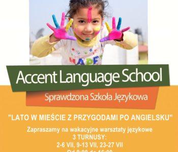 Wakacyjne warsztaty językowe w Accencie