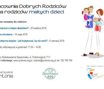 Bezpłatne warsztaty dla rodziców o komunikacji z małym dzieckiem