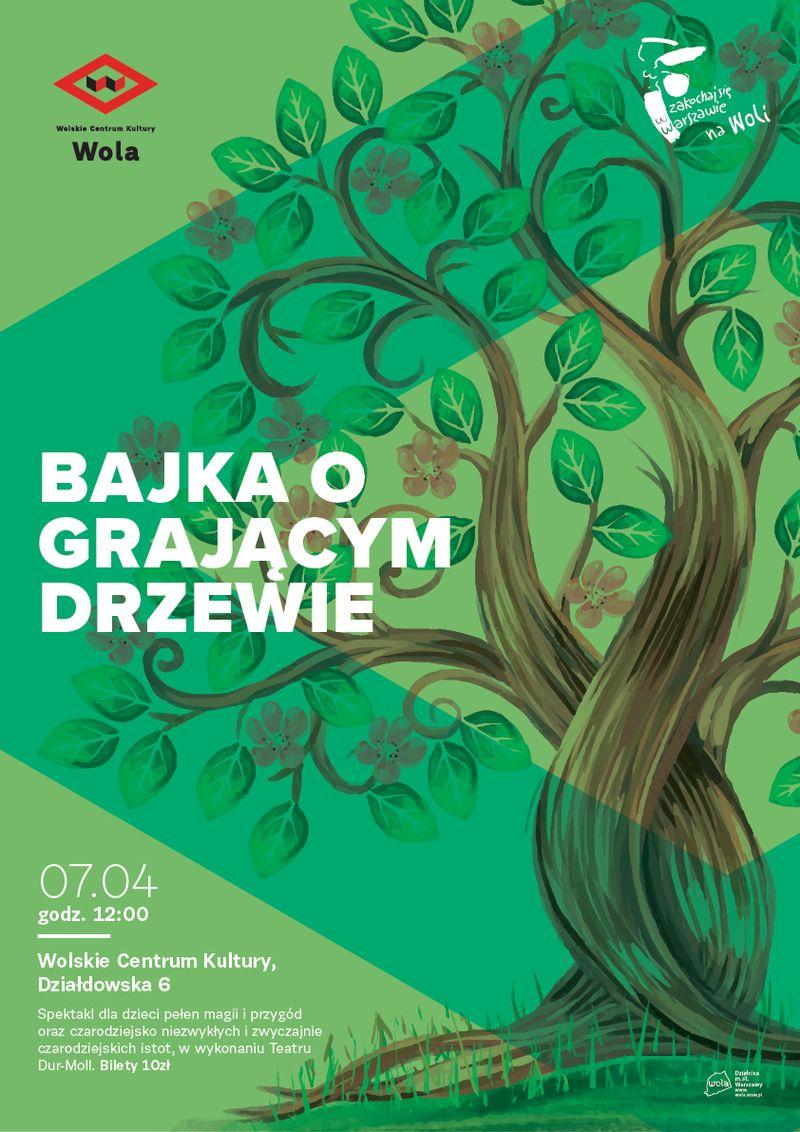 Teatr Dur-Moll: Bajka o grającym drzewie