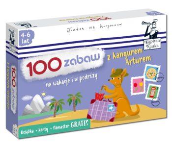 100 zabaw z kangurem Arturem – karty obrazkowe i książka