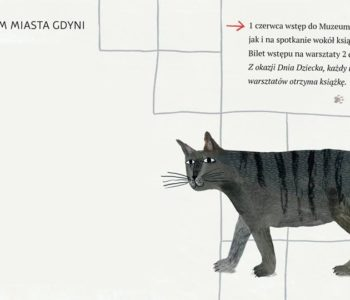 Dzień dziecka w Muzeum Miasta Gdyni - Spotkanie z kotem Antonim