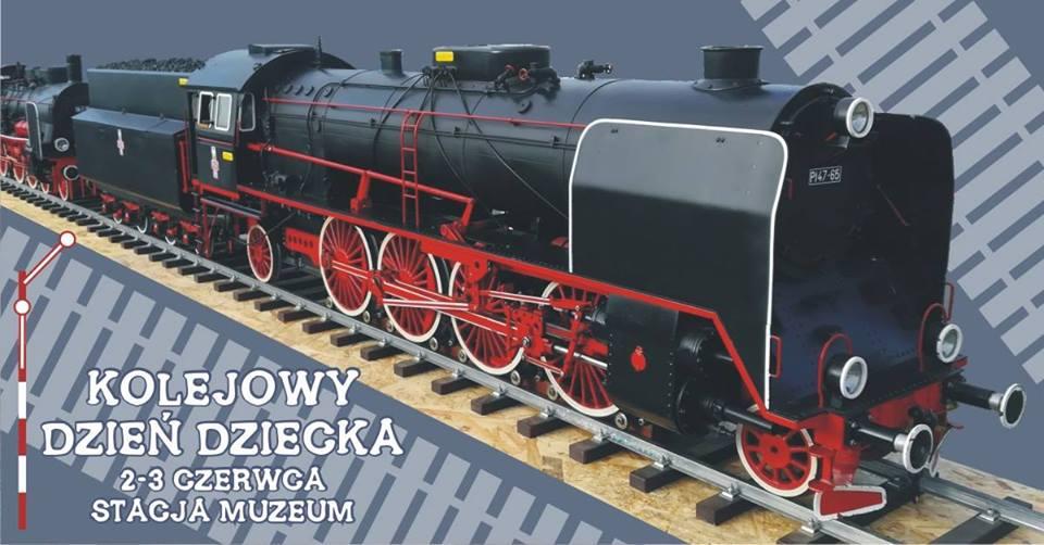 Kolejowy Dzień Dziecka w Stacji Muzeum w Warszawie