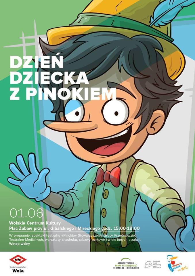 Dzień Dziecka z Pinokiem