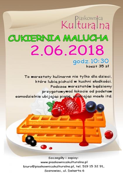 Cukiernia Malucha w Piaskownicy Kulturalnej, Sosnowiec
