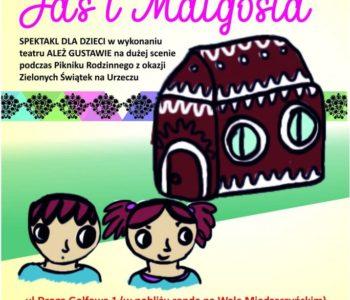Jaś i Małgosia - darmowy spektakl dla dzieci