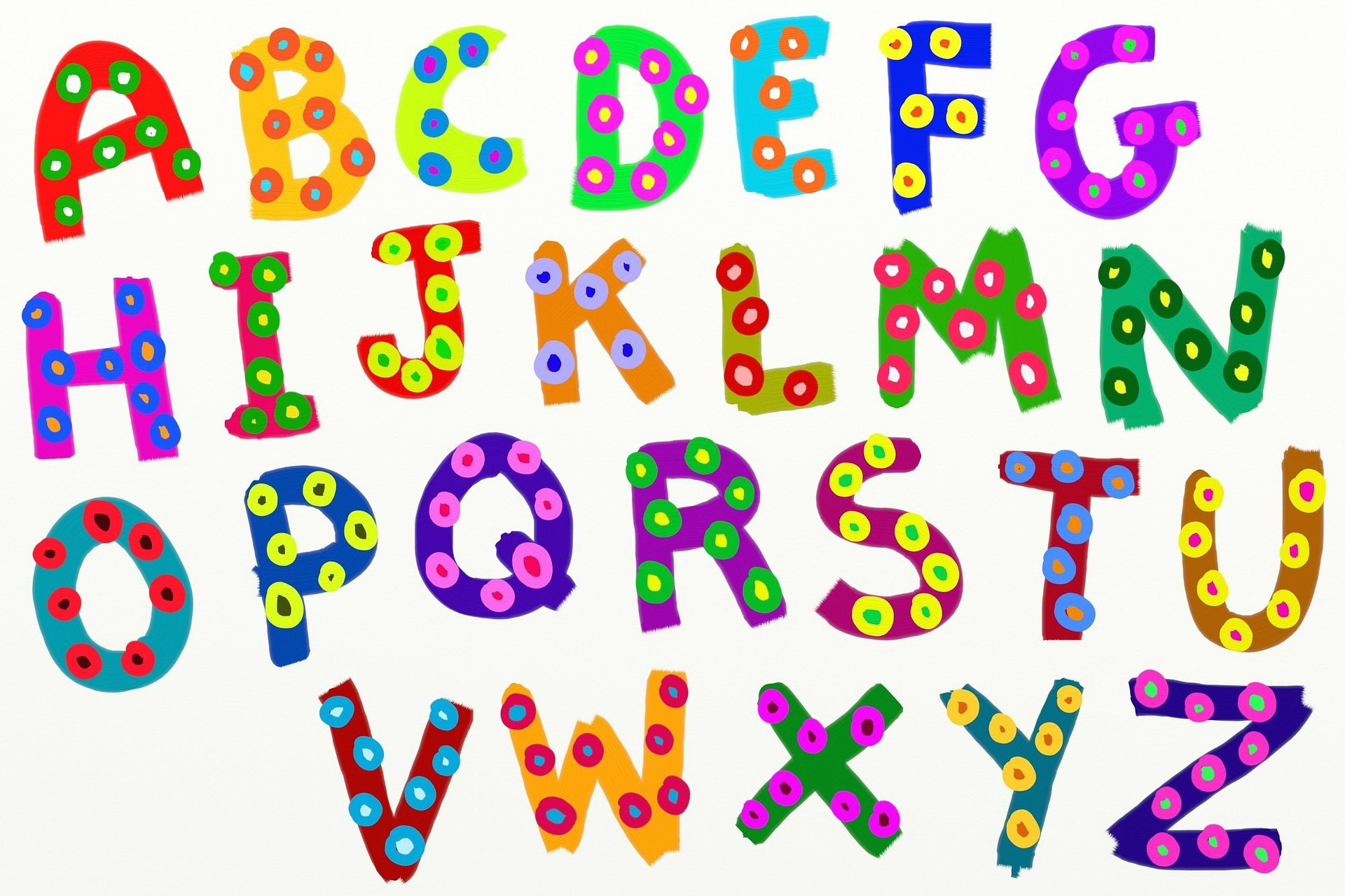 Jak brzmią literki, wierszyk edukacyjny dla dzieci