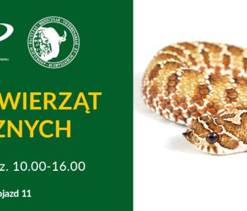 Wystawa Zwierząt Egzotycznych na Uniwersytecie Przyrodniczym