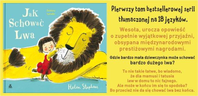 Jak schować Lwa, książka dla dzieci
