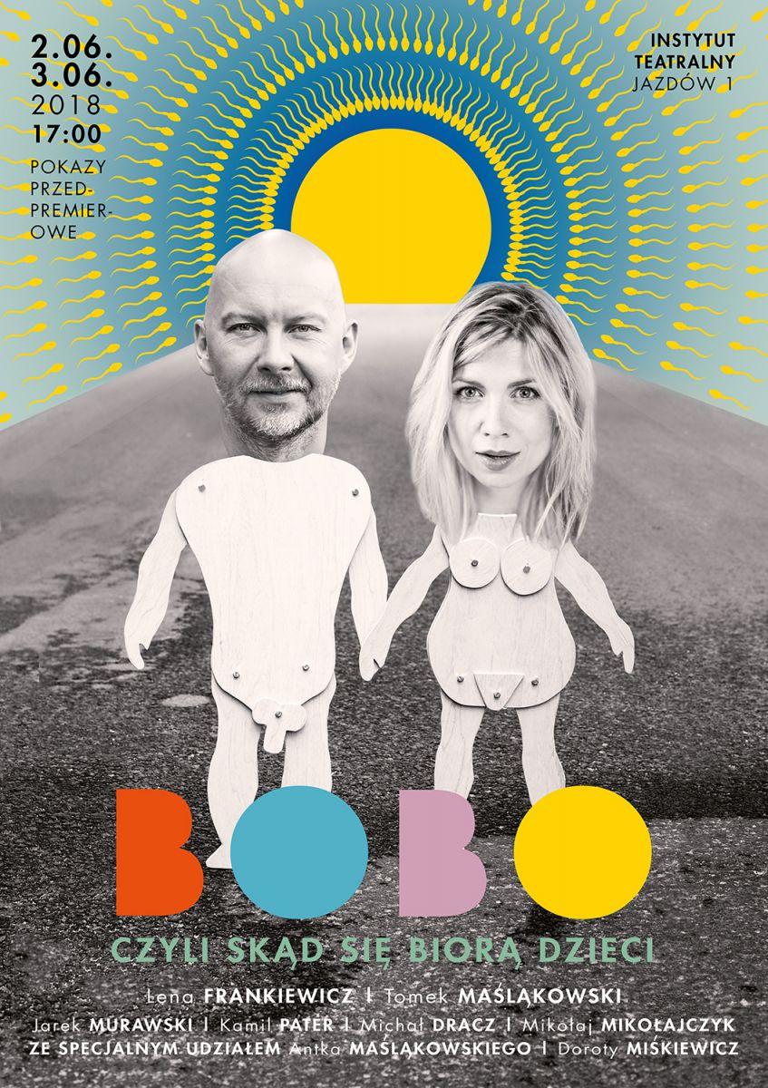 Bobo, czyli skąd się biorą dzieci - spektakl