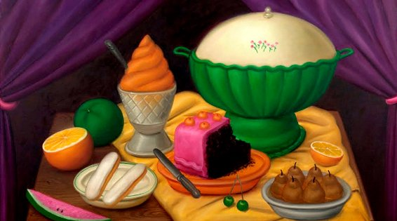 Mistrzowie w Cervantesie: Fernando Botero