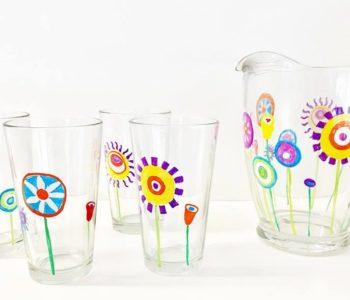 Cuda – szklanki. Warsztaty malowania na szkle