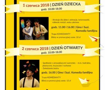Teatralny Dzień Dziecka i Dzień Otwarty w Teatrze Praska 52