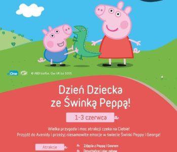 Dzień Dziecka ze Świnką Peppą