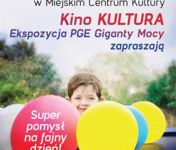 Dzień Dziecka w MCK: seanse filmowe oraz zwiedzanie Ekspozycji PGE Giganty Mocy! Bełchatów