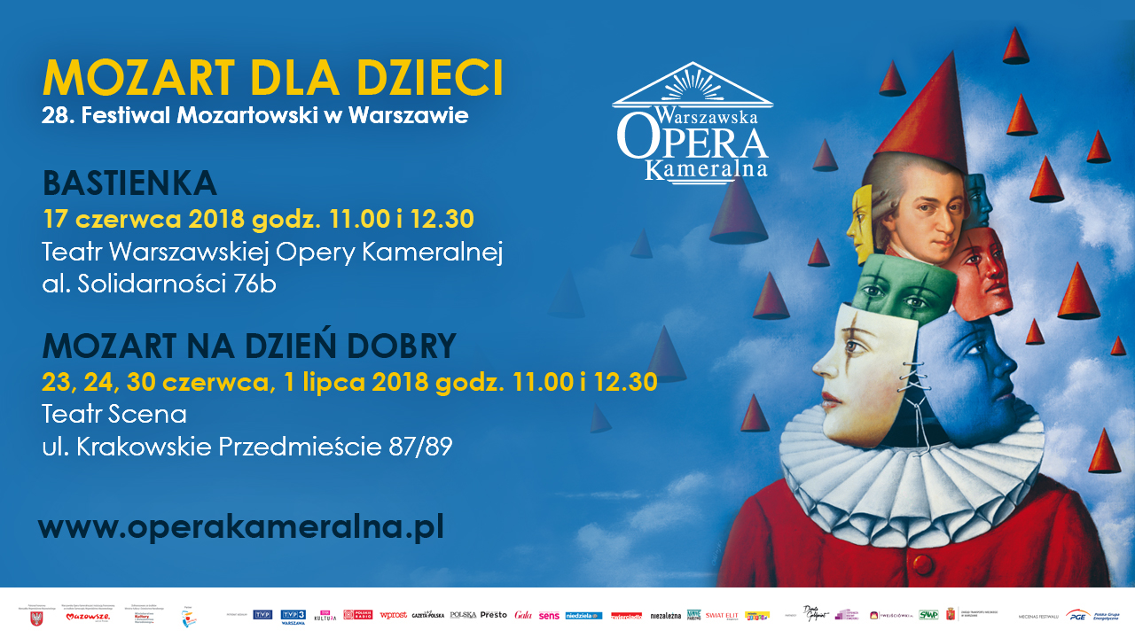 Bastienka i Mozart na Dzień Dobry na Festiwalu Mozartowskim dla dzieci