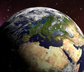Ziemia, wyspa zielona