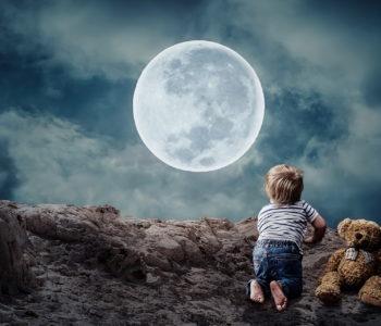 Dobrej nocy i sza, kołysanka dla dzieci, tekst i melodia