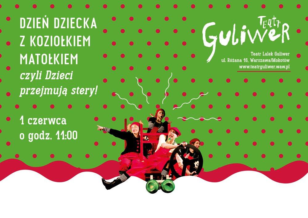Dzień Dziecka w Teatrze Guliwer
