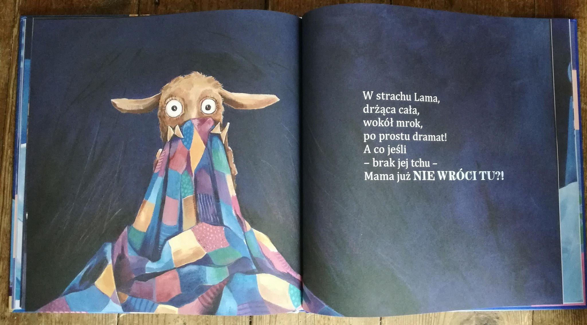 Mała lama opinie o książce