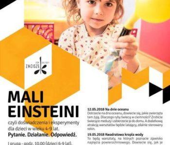Mali Einsteini: Kwadratowa kropla wody