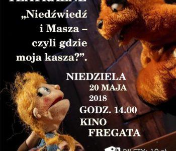 Niedzielne spotkania z teatrem: Niedźwiedź i Masza – czyli gdzie moja kasza?