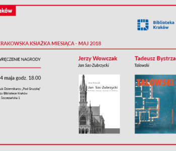 Biblioteka Kraków zaprasza na spotkania z ciekawymi autorami oraz na pikniki nie tylko literackie