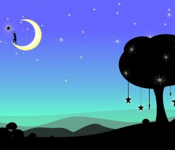 Tup... tup... tup... idzie nocka wierszyk do poduszki dla dzieci