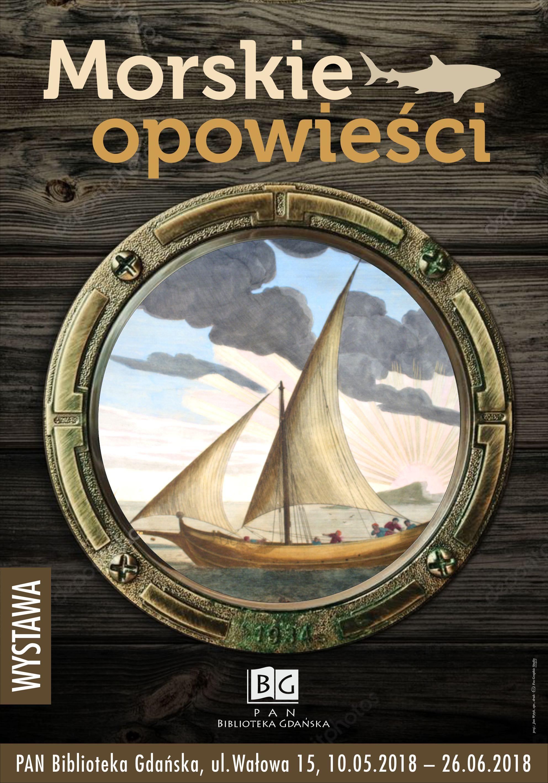 Morskie opowieści - wystawa, Polska Akademia Nauk Biblioteka Gdańska