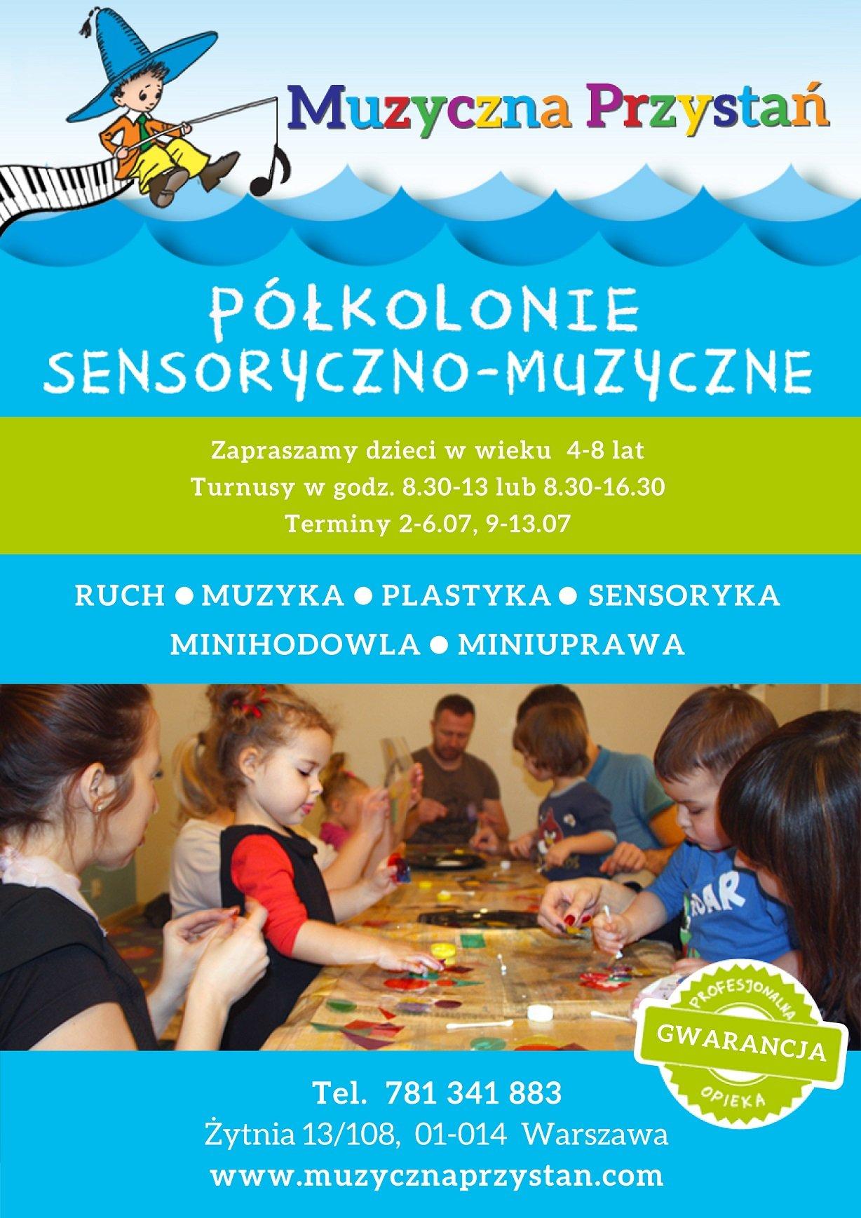 Półkolonie sensoryczno-muzyczne