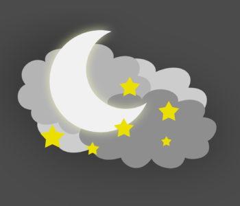 siwa chmurka kołysanka dla dzieci, tekst i melodia