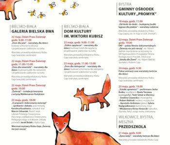 4. Festiwal Ekodzieło – dla zwierząt!