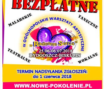 IX Ogólnopolskie Warsztaty Artystyczne Radosne Serca