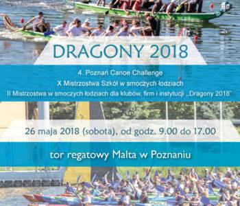 W sobotę Poznańskie Dragony 2018 i 4. Poznań Canoe Challenge