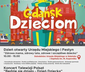 Gdańsk Dzieciom – czyli Wielki Festyn Rodzinny