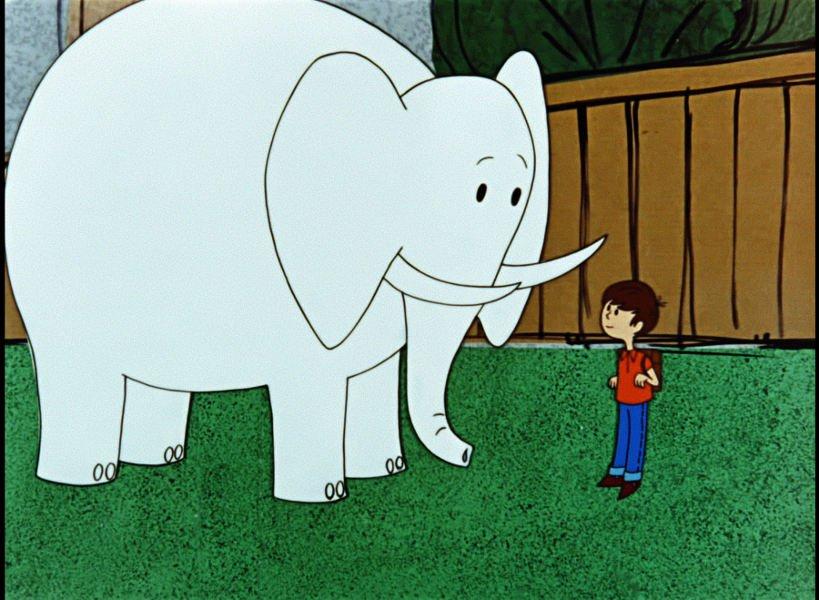 Filmowe spotkania dla dzieci w kinie Agrafka. Proszę słonia