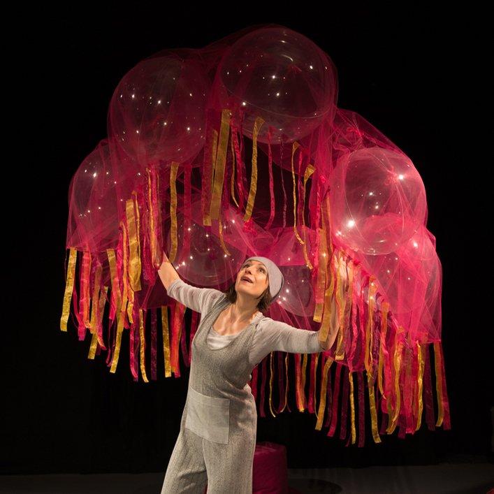 Teatr Niewielki - Puf - przedstawienie dla najmłodszych